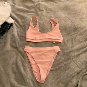Forever 21 scoop neck bikini